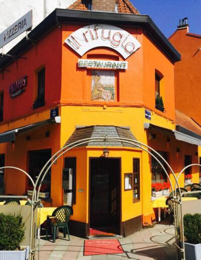 Restaurant Il Rifugio Laeken Bruxelles atomium Heysel Stade Roi Baudouin